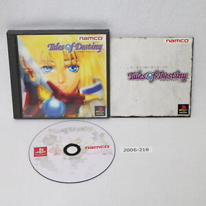 SONY PS1 Tales of Destiny Working NTSC-J Japan 2006-218