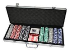 500 Poker Chips mit Alukoffer (11 5 Gramm Laserchips)