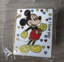 PINS BADGE COLLECTION DISNEY MICKEY MOUSE