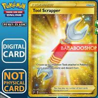 Tool Scrapper Full Art 208/192 Rebel Clash for Pokemon Card Online TCG Digital