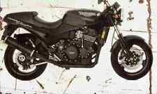 Triumph SpeedTriple 1994 Aged Vintage SIGN A3 LARGE Retro