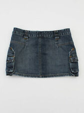 Topshop Denim Extra short, Micro-mini Skirts for Women