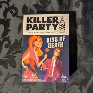 Brand New Sealed Killer Party - Kiss of Death - The Social Mystery Party Game