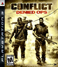 CoNFLict: Denied Ops PS3 New Playstation 3