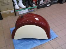 2012 INDIAN CHIEF REAR FENDER LONG  RED AND CREME