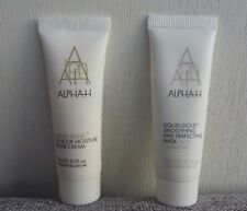 Set of 2 Alpha-H Liquid Gold 24 Hour Moisture Repair Cream + Mask, 15mlx2, NEW
