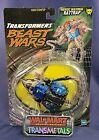 Transformers 1999 Beast Wars Transmetals Blue WALMART RATTRAP Sealed