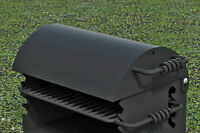 Park Style Cover (only) All Steel For Q-20 B2 Grill from Pilot Rock, GC/B-1