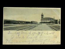 1907 Union RR Depot El Paso TX post card
