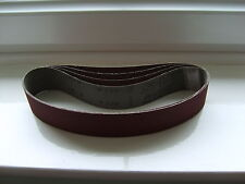 Sanding Belts 30mm x 533mm 120grit to fit Makita 9031 & Metabo pack of 5.