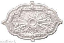 """Ceiling Medallion Oval 36"""" x 26 inch Primed White D598 Designer's Edge Millwork"""