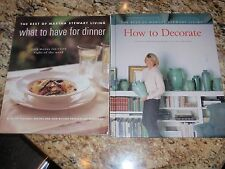 How to Decorate & What to have for Dinner - The Best of Martha Stewart Living
