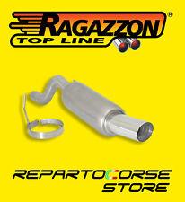 RAGAZZON TERMINALE SCARICO ROTONDO 90mm - FIAT GRANDE PUNTO 1.2 - 10.0128.60