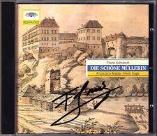 Francisco Araiza Firmato Schubert la bella mugnaia d.795 CD DG Irwin Gage
