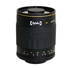 Opteka 500mm Tele Objektiv für Olympus EVOLT E5 E3 E1 E620 E520 E510 E500 E420