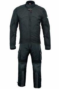 BULLDT 2-teiler Motorradkombi Cordura Textilien Motorradjacke & Moto Cargohose