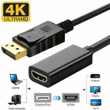 PREMIUM DisplayPort HDMI KABEL VIDEO CONVERTER ADAPTER DP PC COMPUTER 4K FullHD