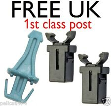 Brabantia BLUE striker pin touch push bin lid repair post + 2 FREE catch latch