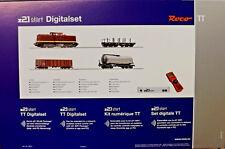 Roco 35021 - TT Digital z21®start Set: Diesellok BR112 mit Güterzug DR - NEU OVP