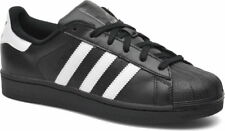 Adidas Superstar Foundation Black/White Men's Trainers Shoes UK 10_11