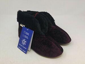 Dearfoams Women's Purple Slippers Size 5-6 US