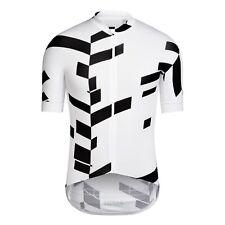 NEW Rapha Pro Team Aero Jersey DATA PRINT XXL White Black Cycling Sky RCC Summer