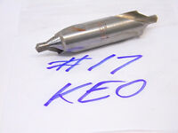 USED KEO HSS No.17 CENTER DRILL COMBINED COUNTERSINK COMBO #17