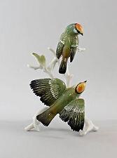 Porzellan Figur Ens Vogel Goldhähnchen-Gruppe H19cm 9997577