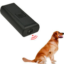 Hot Ultrasonic Pet Dog Repeller Trainer Barking Stop Training Obedience Device