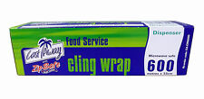 Caterers Cling Wrap 600m x 33cm roll.  22175