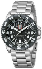 Luminox 3152 Navy Seal Colormark Black Dial Stainless Steel Mens Watch