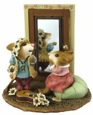 WEE FOREST FOLK A STITCH IN TIME 1970's VERSION B MICE 2006 RETIRED LTD-10 NWOT