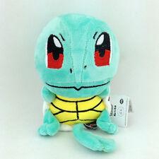 "Squirtle Kanto Starter Pokemon Water Turtle Soft Plush Toy Stuffed Animal New 6"""