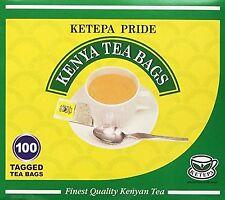 Kenya Tea - Ketepa Pride - 1 box of 100ct Tea Bags