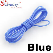 1 meters Blue 30AWG Flexible Silicone Wire Outer Diameter 1.2mm DIY Cable line