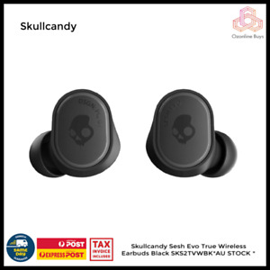 Skullcandy Sesh Evo True Wireless Earbuds Black SKS2TVWBK*AU STOCK *