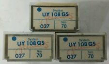 300-Schmetz sewing machine needles Uy 108 Gs (Nm: 70/027)(26:17)