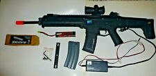 Magpul Metal ACR Masada Airsoft AEG Black Rifle With Assorted Attachments