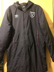 West Ham United Hooded Jacket Coat
