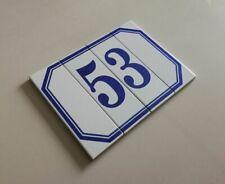 Modulo numero civico componibile in ceramica antigelivo numeri civici modulari