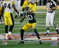 PACKERS Donald Driver signed photo 8x10 AUTO JSA COA Autographed Super Bowl XLV