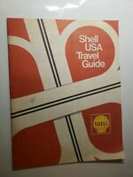 "Vintage Shell USA TRAVEL GUIDE 31 Page Booklet ~10"" x 8"""