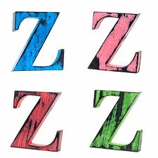 Shabby Chic Vintage Large Wooden Letters 11 cm Free-standing A to Z, & Alphabet