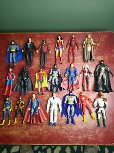 "Amazing Lot of (20) 6"" DC & Marvel Mixed Figure Lot Loose Figures~~~VERY NICE~~~"