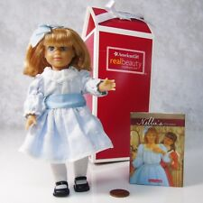 American Girl Cloth Body NELLIE MINI DOLL In MEET OUTFIT BOOK Hairbow Shoes Box