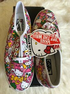 NEW Vans Hello Kitty Women's Lo Pro US 7 EUR 37