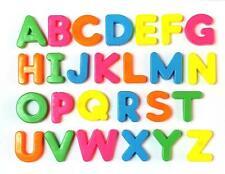 Magnetic Alphabet Letters 26 piece Childrens Kids Magnets Fridge Educational Toy