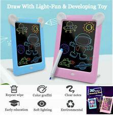 Kinder 3D Magic Zeichnen Sketchpad leuchten Dunkelheit Leuchtende Zeichenbrett