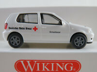 "Wiking 07107 VW Polo III (1999) ""DRK Mainz/Sozialdienst"" in weiß 1:87/H0 NEU/OVP"