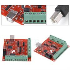 USB MACH3 100Khz Motion Controller Card Breakout Board for CNC Engraving